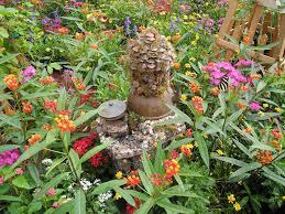 Outdoor Fairy Garden Ideas by Tinkerbell U0027s Miniature Fairy Garden Houses At Disney U0027s Epcot Park