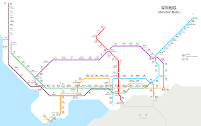 Shenzhen Metro Map In English by File Shenzhen Metro Route Map Svg Wikimedia Commons