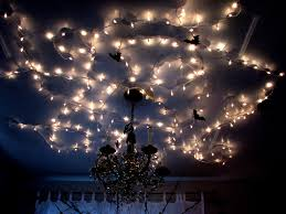harry potter party magical ceiling twinkle lights