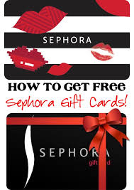 free gift cards free sephora gift card how to get free makeup the frugal