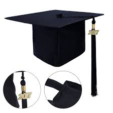 cheap graduation caps graduationmall unisex matte graduation cap with tassel 2017