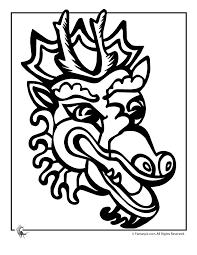 100 ideas chinese dragon coloring sheet emergingartspdx