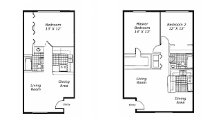 1 bedroom floor plan one bedroom apartments floor plans fascinating 4 typical 1 br