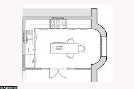 amenagement cuisine 12m2 plan cuisine ouverte 12m2 idée de modèle de cuisine