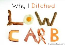 why i ditched low carb cheeseslave
