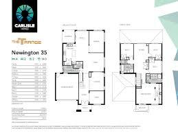 carlisle homes floor plans our carlisle newington 35 the floor plans