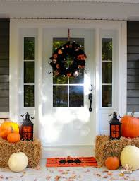 Pictures Of Front Porches Decorated For Fall - fabulous outdoor decorating tips and ideas for fall zing blog by