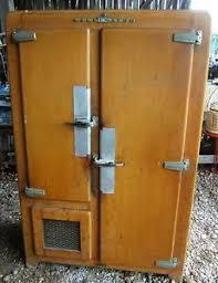 frigo chambre froide glaciere chambre froide bois deco kelvinator frigo de boucherie