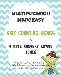 Counting By 7s Song Easy Way To Memorize Multiplication Tables