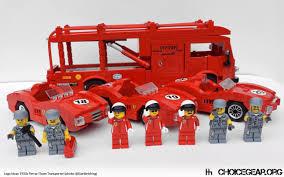ferrari lego speed champions lego ideas speed champions 1950s ferrari race transporter choice