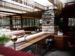 Home Design Exterior And Interior Frank Lloyd Wright Architectural Style With Innovative Natural
