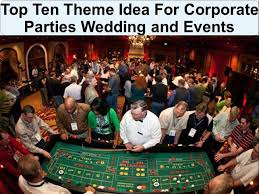 theme ideas for corporate weddings and events