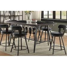 wood counter height table metal wood and glass counter height dining table appert rc