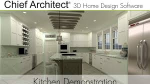 Home Design Software Free Download Chief Architect Chief Architect X9 Kitchen Demonstration Youtube