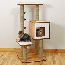 Cool Cat Furniture Modern Cat Tower The Sebastian Modern Cat Tree In Black You Can