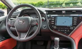 Toyota Map Update Usa by 2018 Toyota Camry First Drive Review Autonxt