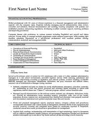 accountant resume template accounting resume templates sles exles resume templates 101