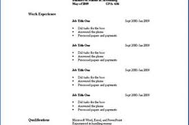 how to make simple resume for a job 85 fascinating resumes for