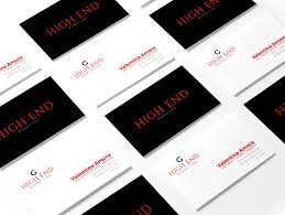 professional business cards new york collection