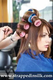 fem boys at the hair salon sissy boy in dress hair styles club curlers pinterest