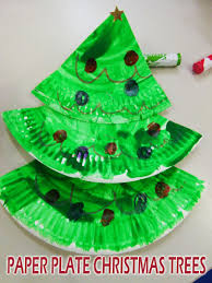 paper plate christmas trees lessons from a teacher