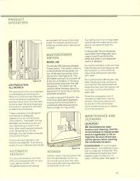 sub zero 550 light switch repair information manual