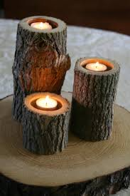tree branch candle holder set of 3 tree branch candle holders wood candle holder for