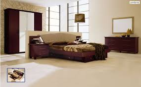 Bed Set With Drawers by Miss Italia Composition 3 Camel Bedroom Set By Esf