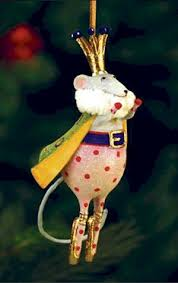 patience brewster krinkles mini ornament mouse king