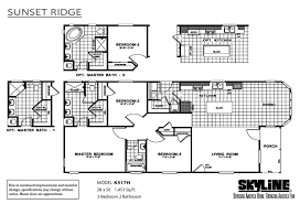 Modular Home Floor Plans California by Skyline Homes Of San Jacinto