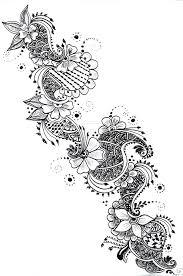 Flower Designs On Paper The 25 Best Henna Designs On Paper Ideas On Pinterest Doddle