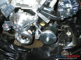 corvette alternator bracket zoops brackets