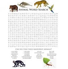 animal word scramble for kids kiddo shelter