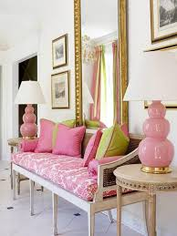 pink color schemes offering symbolic and romantic interior design