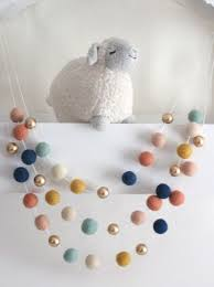 25 unique felt garland ideas on nursery crafts