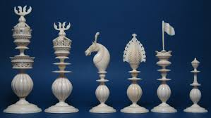 antique indian chess sets