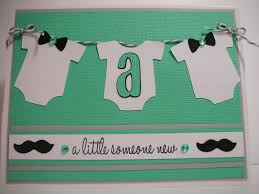mustache and bow tie baby boy card youtube