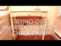 Chalk Paint Series 2 Trying Americana Decor Paint Lace