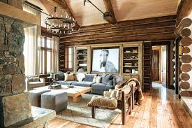 rustic home interior a montana home renewed with rustic style