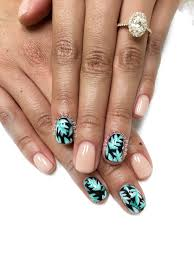 monstera deliciosa nail decals cheese plant tropical botanical