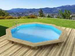 amenagement autour piscine hors sol piscine en bois