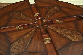 dining tables round dining tables with leaves 60 inch round
