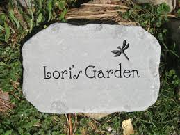 Engraved Garden Rocks Personalized Garden Stones Custom Engraved Garden By