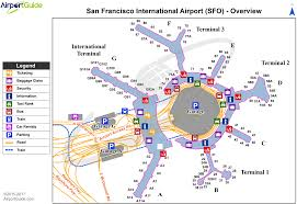 San Francisco On World Map by San Francisco San Francisco International Sfo Airport Terminal