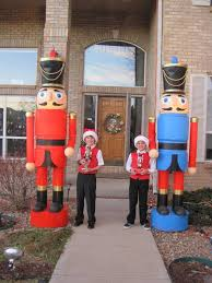 nutcracker how to make nutcrackers for your front yard or