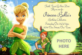 Birth Ceremony Invitation Card Appealing Tinkerbell Invitation Card 67 For Your Thread Ceremony