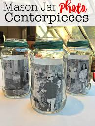 jar center pieces jar photo centerpieces momof6