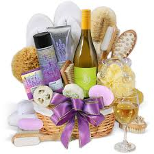 spa gift basket ideas premium spa wine gift basket basket ideas and auction baskets