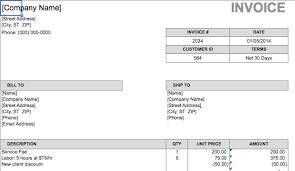 download simple labour invoice template rabitah net