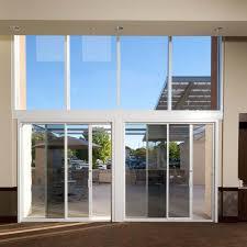 How To Fix A Patio Door How To Fix Sliding Door Track Lowes Glass Doors With Blinds Energy